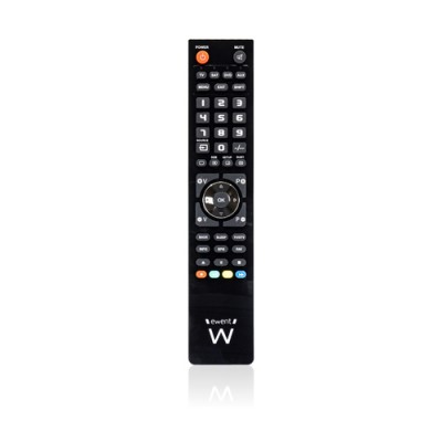 Ewent EW1570 mando a distancia DTT, DVD/Blu-ray, Proyector, SAT, STB, Altavoz para barra de sonido, TV, Universal, VCR Botones -