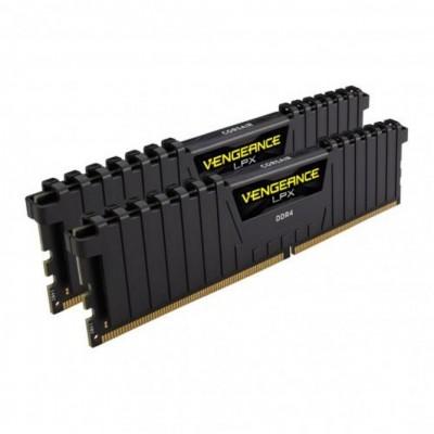 Memoria ddr4 16gb kit 2x8 corsair vengeance - pc4 - 24000 -  3000mhz -  c15 negro - Imagen 1