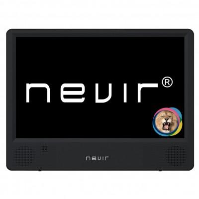 Tv portatil nevir 10.1pulgadas led -  nvr - 7302 - tdt10p2 -  tdt -  usb - Imagen 1