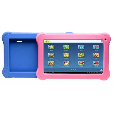"Denver TAQ-10383KBLUE/PINK 25,6 cm (10.1"") 1 GB 16 GB Wi-Fi 4 (802.11n) Negro, Azul, Rosa Android 8.1 Go edition - Imagen 1"