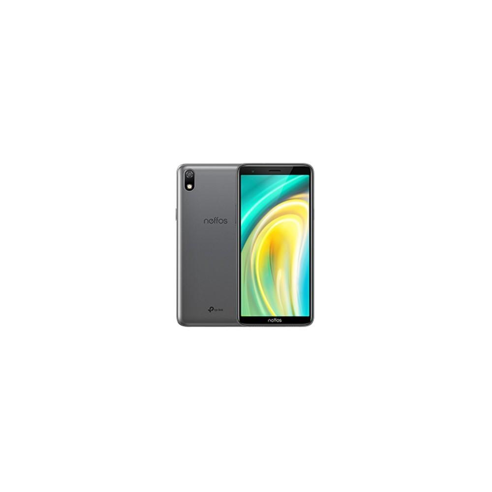 Telefono movil smartphone tp link neffos a5 gris oscuro - 5.99pulgadas - 16gb rom - 1gb ram - quad core - 5mpx -  2mpx - dual si