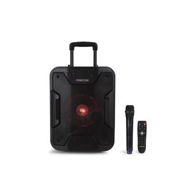 Altavoz - amplificador portatil fonestar california 200w  - jack - auxiliar - funcion karaoke - bt - usb  - - Imagen 1