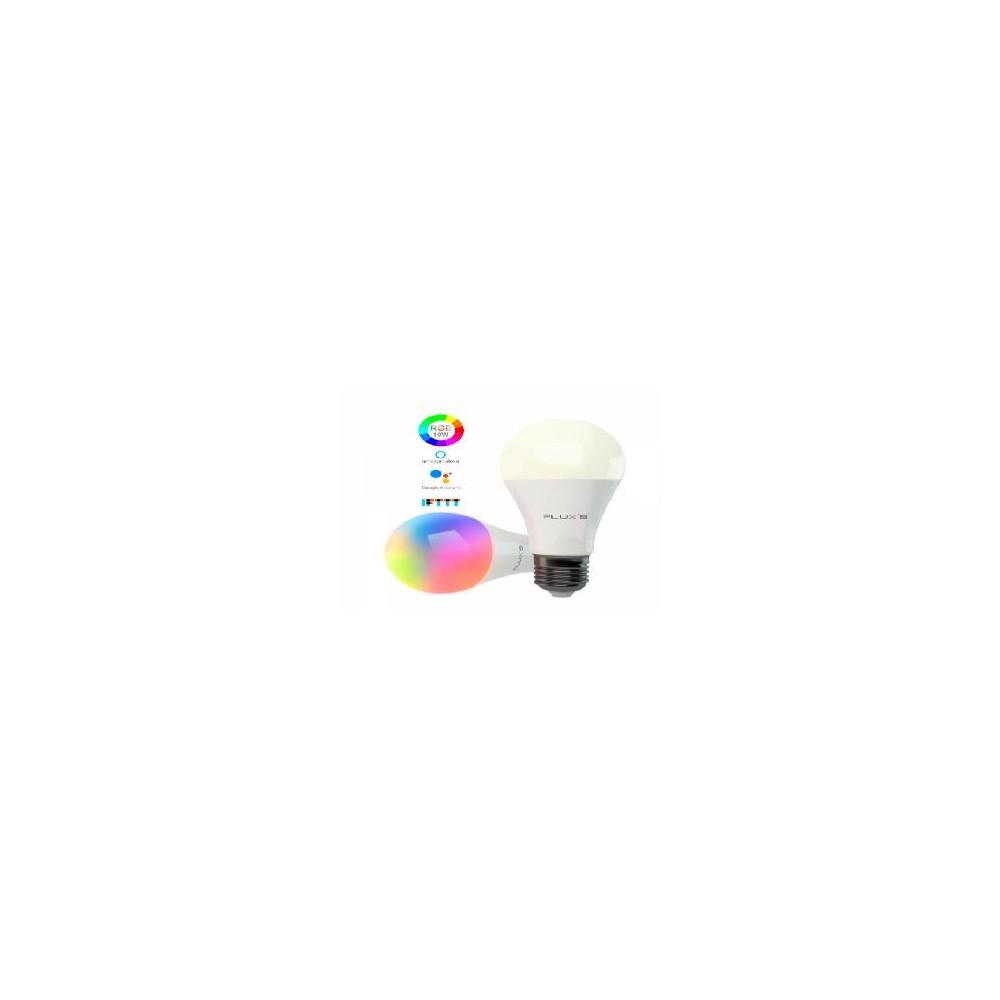 Pack de 2 bombillas wifi flux´s 10w rgb compatible alexa - google assistant - Imagen 1