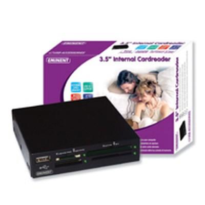 Eminent 3.5'' Internal Cardreader lector de tarjeta USB 2.0 - Imagen 1