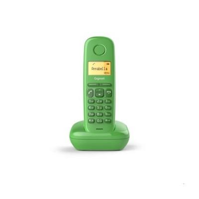 Telefono fijo inalambrico gigaset a170 verde 50 numeros agenda -  10 tonos - Imagen 1