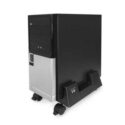 Ewent EW1290 soporte de CPU Carro para equipo informático Negro - Imagen 1