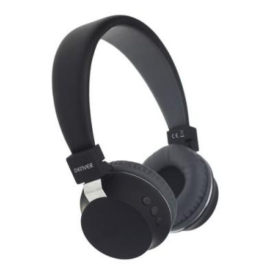 Denver BTH-205 Auriculares Diadema Negro - Imagen 1