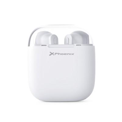 Auriculares phoenix earpods bluetooth 5.0 - hasta 4.5 horas autonomia - estuche con powerbank hasta 5 recargas completas - compa