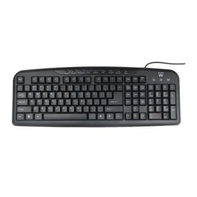 Ewent EW3125 teclado USB Negro - Imagen 1