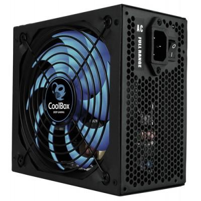 CoolBox DeepPower BR-650 unidad de fuente de alimentación 650 W 20+4 pin ATX ATX Negro - Imagen 1