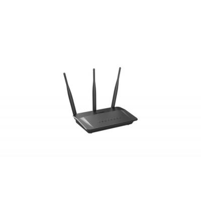 D-Link DIR-809 router inalámbrico Doble banda (2,4 GHz / 5 GHz) Ethernet rápido Negro - Imagen 1