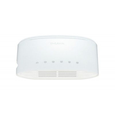D-Link DGS-1005D/E switch No administrado L2 Gigabit Ethernet (10/100/1000) Blanco - Imagen 1