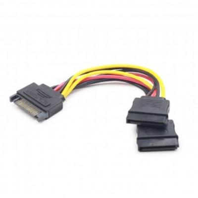 Cable sata gembird cc - satam2f - 01 macho - hembra -  2 puertos hembra -   0.15m - Imagen 1