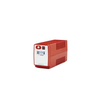Salicru SPS SOHO+ SAI Line-interactive 500 VA - 2200 VA con doble cargador USB - Imagen 1