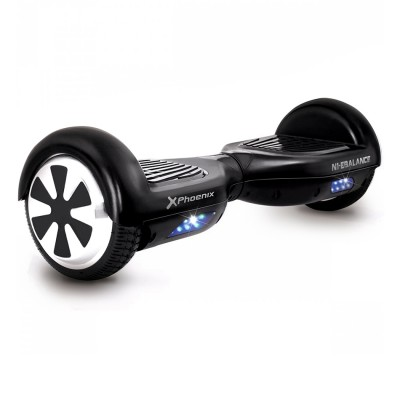 Hoverboard patinete phoenix n1 - ebalance - motor 250w - ruedas 6.5pulgadas - autonomia hasta 15km - velocidad maxima 14km - h -