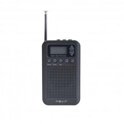Radio nevir de bolsillo digital nvr - 135 - gris - Imagen 1