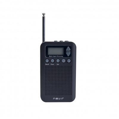 Radio nevir de bolsillo digital nvr - 135 - negro - Imagen 1