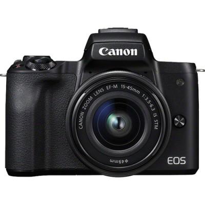 Canon EOS M50 + EF-M 15-45mm IS STM MILC 24,1 MP CMOS 6000 x 4000 Pixeles Negro - Imagen 1