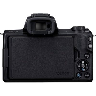 Canon EOS M50 + EF-M 15-45mm IS STM MILC 24,1 MP CMOS 6000 x 4000 Pixeles Negro - Imagen 4
