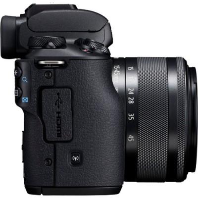 Canon EOS M50 + EF-M 15-45mm IS STM MILC 24,1 MP CMOS 6000 x 4000 Pixeles Negro - Imagen 6
