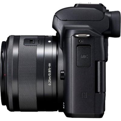 Canon EOS M50 + EF-M 15-45mm IS STM MILC 24,1 MP CMOS 6000 x 4000 Pixeles Negro - Imagen 7
