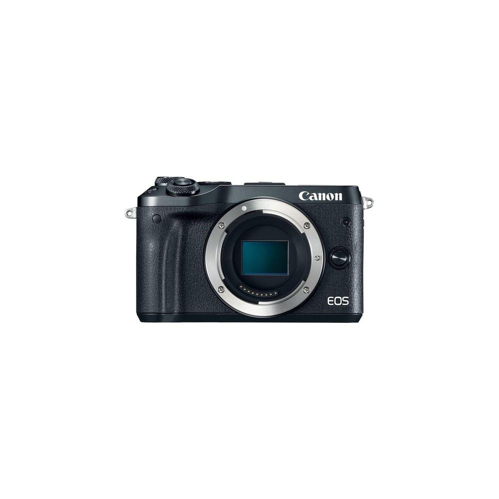Canon EOS M6 Cuerpo MILC 24,2 MP CMOS 6000 x 4000 Pixeles Negro - Imagen 1
