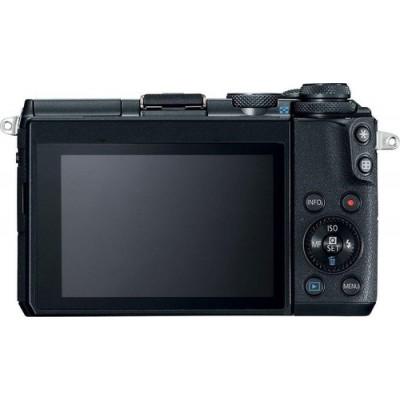 Canon EOS M6 Cuerpo MILC 24,2 MP CMOS 6000 x 4000 Pixeles Negro - Imagen 2