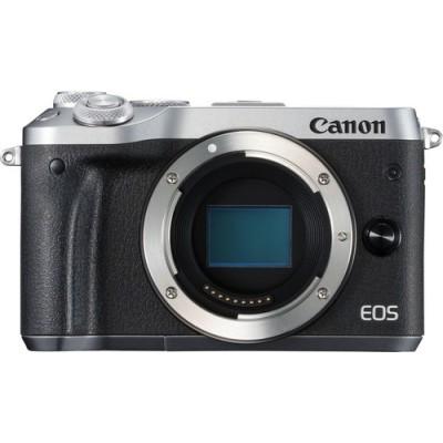 Canon EOS M6 Cuerpo MILC 24,2 MP CMOS 6000 x 4000 Pixeles Negro, Plata - Imagen 1