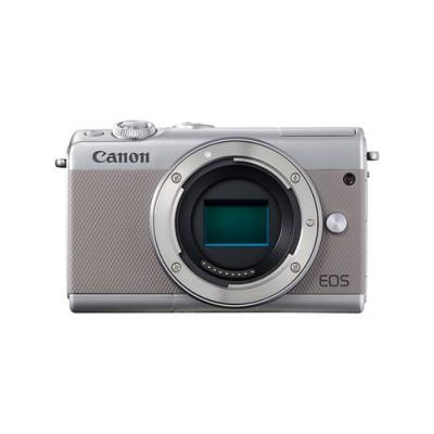 Canon EOS M100 Cuerpo MILC 24,2 MP CMOS 6000 x 4000 Pixeles Gris - Imagen 1