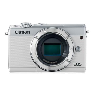 Canon EOS M100 Cuerpo MILC 24,2 MP CMOS 6000 x 4000 Pixeles Blanco - Imagen 1
