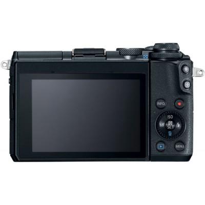 Canon EOS M6 + EF-M 15-45mm 3.5-6.3 IS STM MILC 24,2 MP CMOS 6000 x 4000 Pixeles Negro - Imagen 4