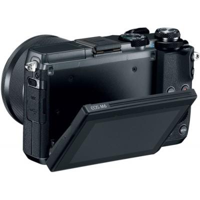Canon EOS M6 + EF-M 15-45mm 3.5-6.3 IS STM MILC 24,2 MP CMOS 6000 x 4000 Pixeles Negro - Imagen 6