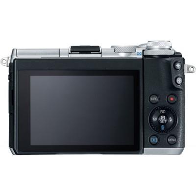 Canon EOS M6 + EF-M 15-45mm 3.5-6.3 IS STM MILC 24,2 MP CMOS 6000 x 4000 Pixeles Negro, Plata - Imagen 3