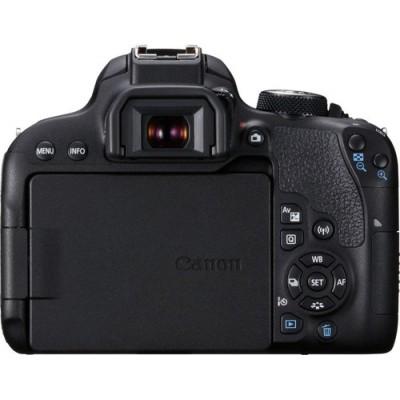 Canon EOS 800D + EF-S 18-55mm 4.0-5.6 IS STM Juego de cámara SLR 24,2 MP CMOS 6000 x 4000 Pixeles Negro - Imagen 2