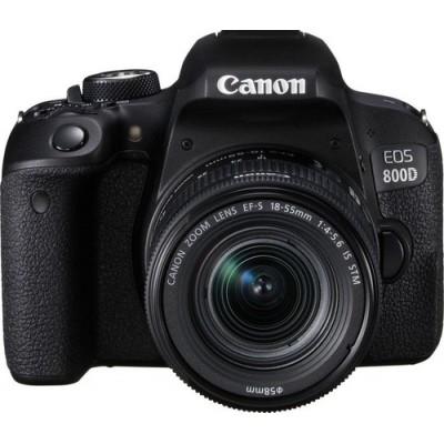 Canon EOS 800D + EF-S 18-55mm 4.0-5.6 IS STM Juego de cámara SLR 24,2 MP CMOS 6000 x 4000 Pixeles Negro - Imagen 3
