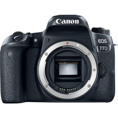 Canon EOS 77D Cuerpo de la cámara SLR 24,2 MP CMOS 6000 x 4000 Pixeles Negro - Imagen 1