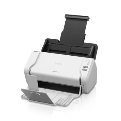 Brother ADS-2200 escaner 600 x 600 DPI Escáner con alimentador automático de documentos (ADF) Negro, Blanco A4 - Imagen 1