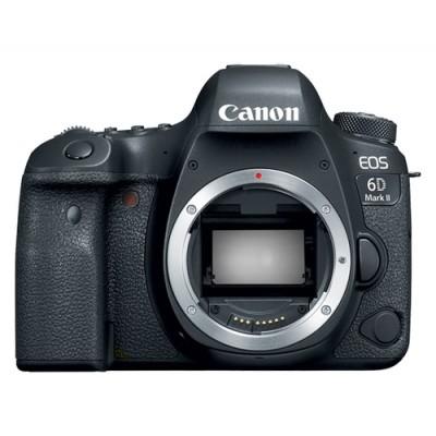 Canon EOS 6D Mark II Cuerpo de la cámara SLR 26,2 MP CMOS 6240 x 4160 Pixeles Negro - Imagen 1