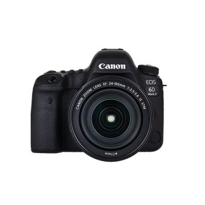 Canon EOS 6D Mark II + EF 24-105mm IS STM Juego de cámara SLR 26,2 MP CMOS 6240 x 4160 Pixeles Negro - Imagen 1