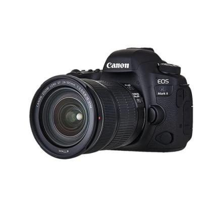 Canon EOS 6D Mark II + EF 24-105mm IS STM Juego de cámara SLR 26,2 MP CMOS 6240 x 4160 Pixeles Negro - Imagen 3
