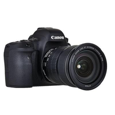 Canon EOS 6D Mark II + EF 24-105mm IS STM Juego de cámara SLR 26,2 MP CMOS 6240 x 4160 Pixeles Negro - Imagen 4