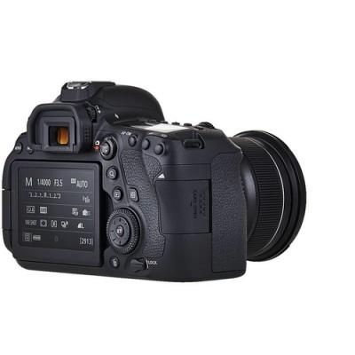 Canon EOS 6D Mark II + EF 24-105mm IS STM Juego de cámara SLR 26,2 MP CMOS 6240 x 4160 Pixeles Negro - Imagen 9