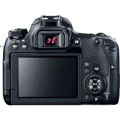 Canon EOS 77D + EF-S 18-135mm 3.5-5.6 IS USM Juego de cámara SLR 24,2 MP CMOS 6000 x 4000 Pixeles Negro - Imagen 2