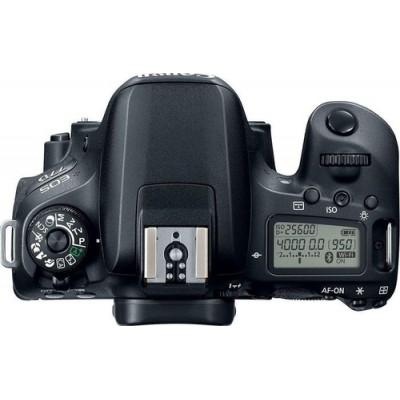 Canon EOS 77D + EF-S 18-135mm 3.5-5.6 IS USM Juego de cámara SLR 24,2 MP CMOS 6000 x 4000 Pixeles Negro - Imagen 4