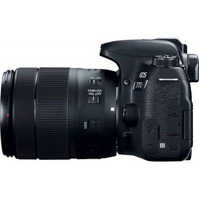 Canon EOS 77D + EF-S 18-135mm 3.5-5.6 IS USM Juego de cámara SLR 24,2 MP CMOS 6000 x 4000 Pixeles Negro - Imagen 5